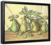 Ripe Pears   -Canvas Art Print