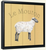 Le Mouton-Sheep-Canvas Art Print