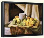 Lemon Limes and Oranges   -Canvas Art Print