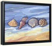 Four Shells   -Canvas Art Print