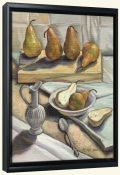 Yellow Pears   -Canvas Art Print