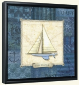 Nautique Sailing IV  -Canvas Art Print