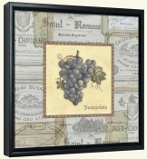 Grapes III  -Canvas Art Print
