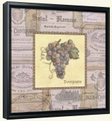 Grapes II  -Canvas Art Print