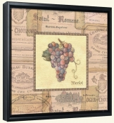Grapes I  -Canvas Art Print