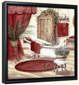 Victorian Bath II   -Canvas Art Print