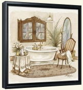 Antique Bath I   -Canvas Art Print