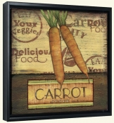 Poster Carrots  -Canvas Art Print