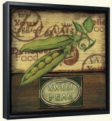 Poster Peas  -Canvas Art Print