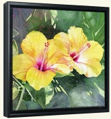 LW-Hibiscus  -Canvas Art Print