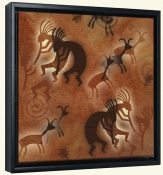 Kokopelli  -Canvas Art Print
