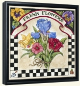 Fresh Flowers  -Canvas Art Print