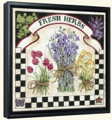 Fresh Herbs  -Canvas Art Print