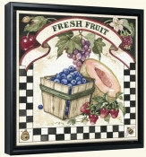 Fresh Fruit  -Canvas Art Print