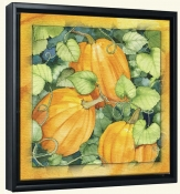 Pumpkins  -Canvas Art Print
