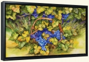 Vineyard Fruit  -Canvas Art Print