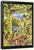 Castle Vineyard  -Canvas Art Print