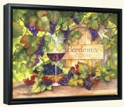 Bordeaux  -Canvas Art Print