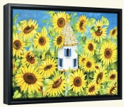 Sunflowers Provencale  -Canvas Art Print