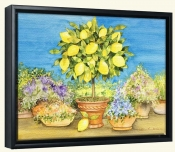 Lemon Tree  -Canvas Art Print