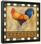 Fancy Rooster 1  -Canvas Art Print