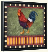 Fancy Rooster 2  -Canvas Art Print