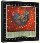 Fancy Rooster 3  -Canvas Art Print