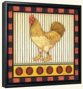 Fancy Rooster 5  -Canvas Art Print