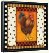 Fancy Rooster 6  -Canvas Art Print