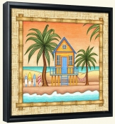 Surf Shack 2  -Canvas Art Print