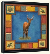 Wilderness Deer  -Canvas Art Print