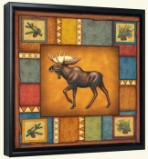 Wilderness Moose  -Canvas Art Print
