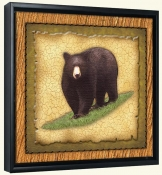 Lodge Black Bear 1  -Canvas Art Print