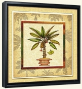 Banana Palm 2  -Canvas Art Print