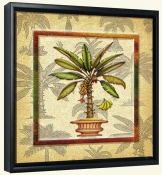Banana Palm 3  -Canvas Art Print