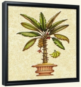 Banana Palm 4  -Canvas Art Print