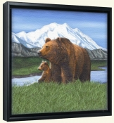 Bears  -Canvas Art Print