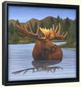 Moose 4 -Canvas Art Print