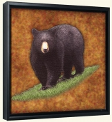 Lodge Black Bear 2  -Canvas Art Print