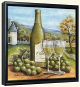 Vin Blanc -Canvas Art Print