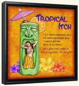 Drink Recipe-Tropical Itch-Canvas Art Print