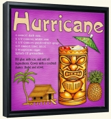 Drink Recipe-Hurricane-Canvas Art Print