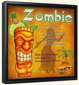 Drink Recipe-Zombie-Canvas Art Print