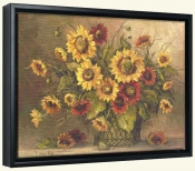 BM-Sunflower Bouquet -Canvas Art Print