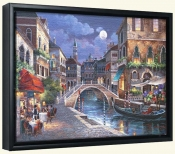 JL-Streets of Venice II -Canvas Art Print
