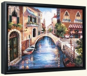 JL-Streets of Venice III -Canvas Art Print