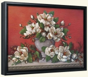 JK-Classical Magnolia II -Canvas Art Print