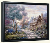 CV-The Woodlands -Canvas Art Print