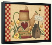 AA-Country Charm H -Canvas Art Print