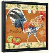 LW-Rooster Heirloom -Canvas Art Print